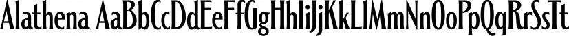 Alathena font family by Studio Sun