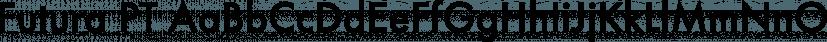Futura PT font family by ParaType