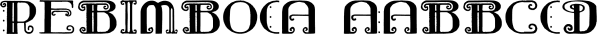 Rebimboca font family by Intellecta Design