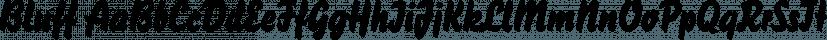 Bluff font family by FontSite Inc.