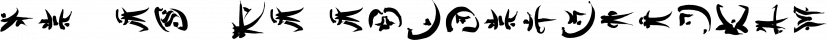 Ye-As-Ta font family by Grummedia