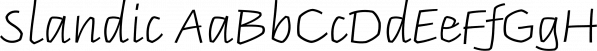 Slandic font family by Vibrant Types