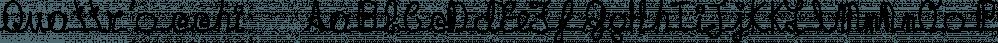 Quattr'occhi™ font family by MINDCANDY