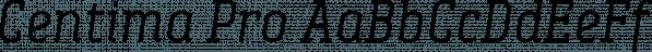 Centima Pro font family by TipografiaRamis