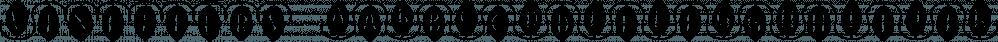 Vinetters font family by Ingrimayne Type