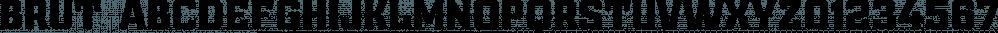 Brut font family by Gaslight