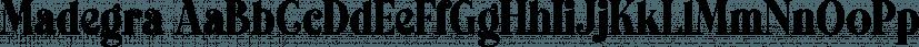 Madegra font family by Letterhend Studio