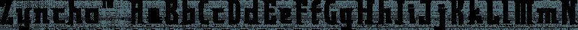 Zyncho™ font family by MINDCANDY