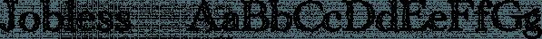 Jobless™ font family by MINDCANDY