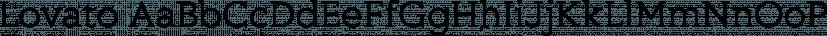 Lovato font family by Philatype