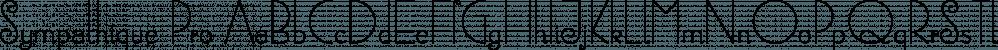 Sympathique Pro font family by Canada Type