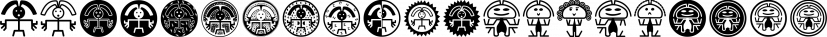 MesoAmerican font family by Intellecta Design