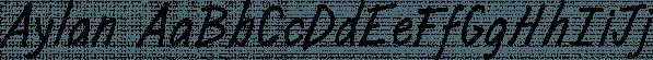 Aylan font family by Eurotypo