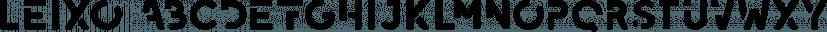 Leixo font family by phitradesign fonts