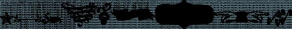 Bonbon font family by Fenotype
