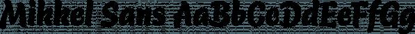 Mikkel Sans font family by TypeMates