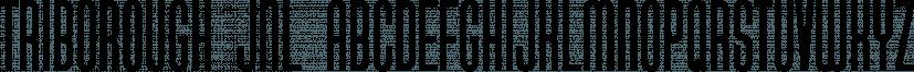 Triborough JNL font family by Jeff Levine Fonts