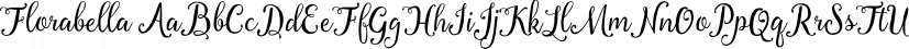 Florabella font family by Seniors Studio