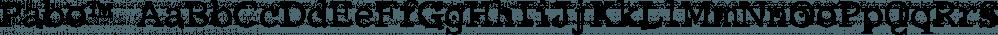 Pabo™ font family by MINDCANDY
