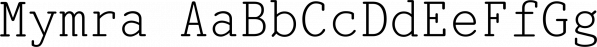Mymra font family by TipografiaRamis