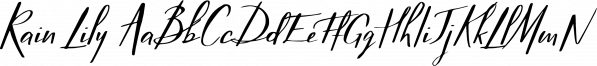 Rain Lily font family by Studioways