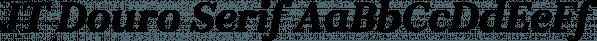 JT Douro Serif font family by JAM Type