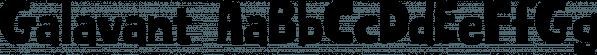 Galavant font family by Atlantic Fonts