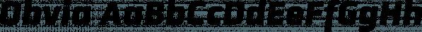 Obvia font family by Typefolio Digital Foundry