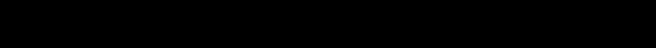 Wide Display Font Specimen