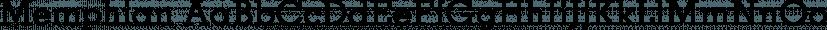 Memphian font family by FontSite Inc.