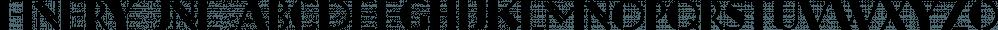 Finery JNL font family by Jeff Levine Fonts