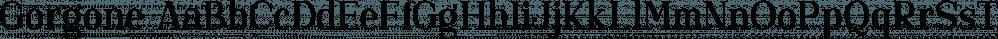 Gorgone font family by Letterhend Studio