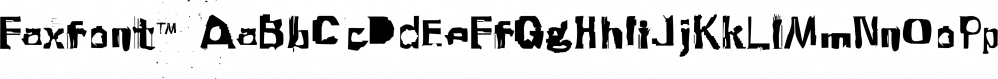 Faxfont™ font family by MINDCANDY
