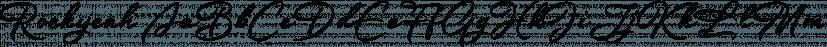 Rockyeah font family by Majestype