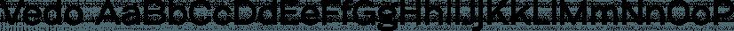 Vedo font family by Wiescher-Design