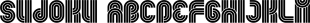 Sudoku font family mini
