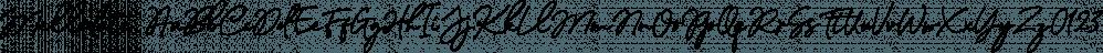 Mellodate font family by Letterhend Studio