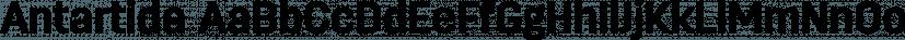 Antartida font family by Latinotype