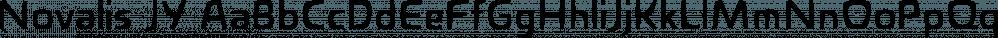 Novalis JY font family by JY&A Fonts