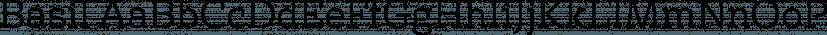 Basil font family by Karandash