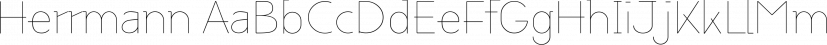 Herrmann font family by driemeyerdesign