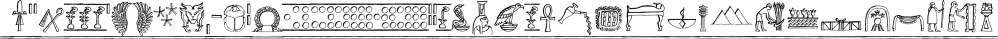 Hieroglyph Informal font family by Grummedia