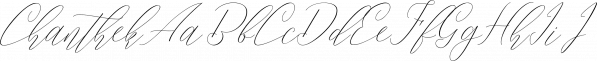 Chanthek font family by pollem.Co