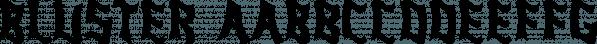 Bluster font family by Ingrimayne Type