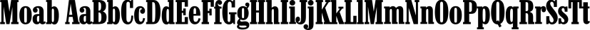 Moab font family by FontSite Inc.