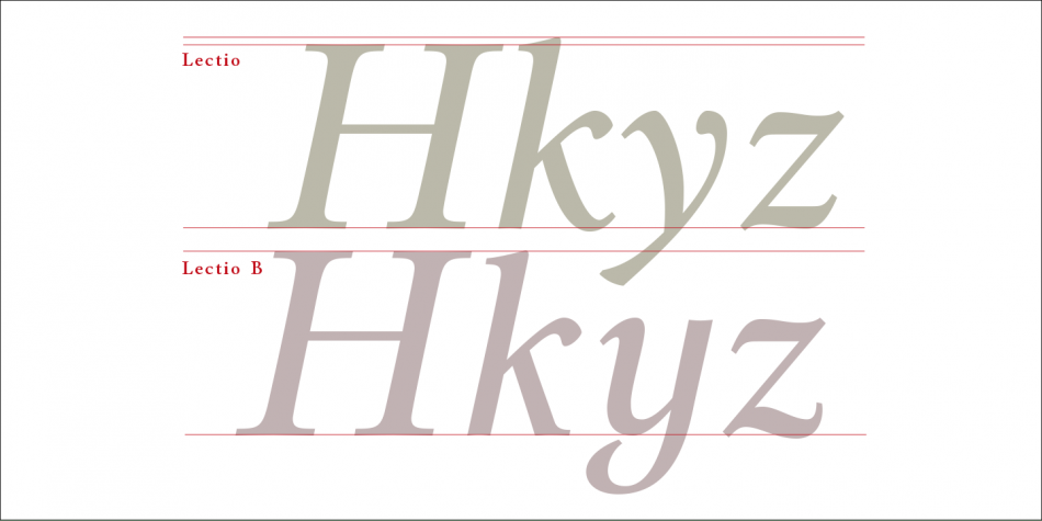 Download Lectio Font Family
