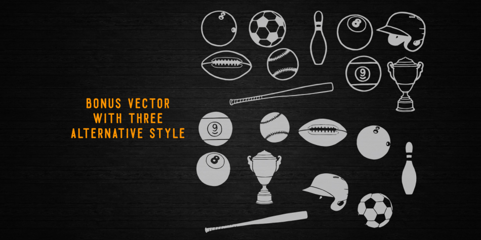 Download Homerun Typeface Font Family