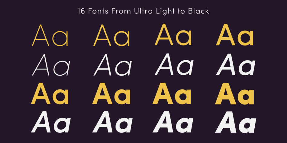 Download Sofia Pro Font Family