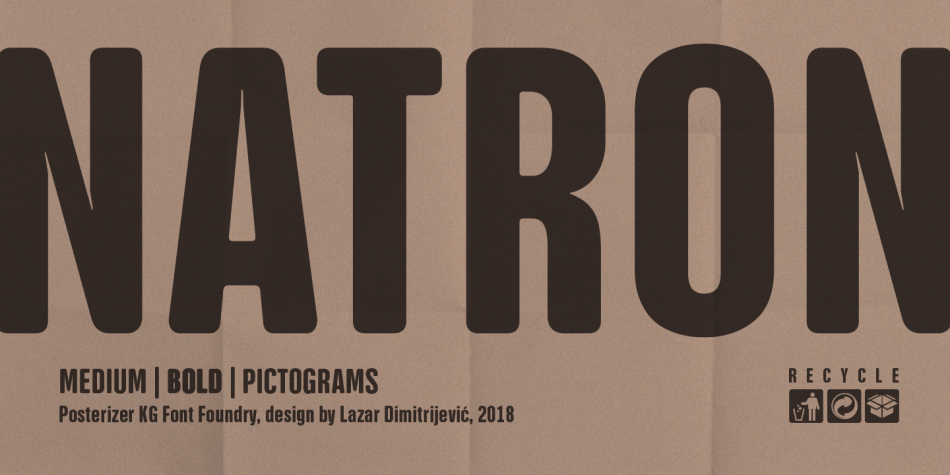 Download NATRON Font Family
