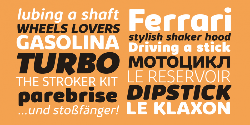 Download Kabrio Font Family